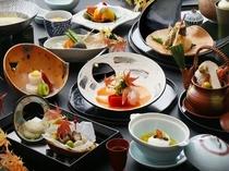 懐石料理一例(秋)