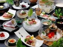 夏懐石料理一例