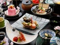 春懐石料理一例