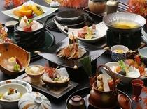 懐石料理の一例(秋)