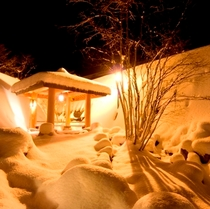 【外観】冬の景色