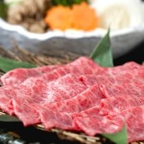 【料理】飛騨牛のしゃぶしゃぶ肉