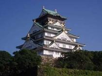 大阪城へは・・・