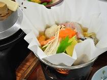 【お料理・寄せ鍋】夏の一例