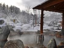 【露天・冬】寒い冬は温泉がいちばん。
