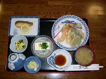 旬の素材を使った夕食メニュー2