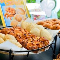 朝食バイキング/焼きたてパンも盛りだくさん!朝はパン派のあなたにも♪