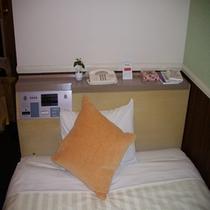 《レディースルーム》オレンジとピンクで温かみのあるお部屋