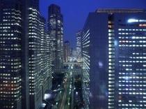 【本館25階マンハッタンテーブル】新宿でしか味わえない夜景が目の前に広がります☆