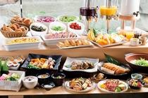 【新館1階ふじた】朝食バイキング一例