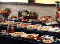 【本館1階セラリ迎賓館】朝食中華バイキング一例