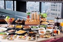 【本館25階マンハッタンテーブル】朝食バイキング一例