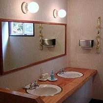 【洗面所】*清潔で明るい洗面所
