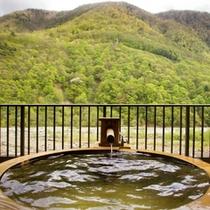 ■山の棟-銀SHIROGANE-■【露天風呂】