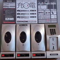 【フロントロビー常設】携帯電話充電器