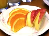 フレッシュフルーツでビタミン補給♪