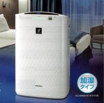 スタンダードシングル・リラックスシングル・ツイン・ダブルにプラズマクラスター加湿器付空気清浄機を常設