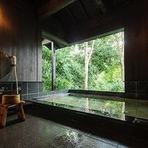 貸切風呂 黒の湯