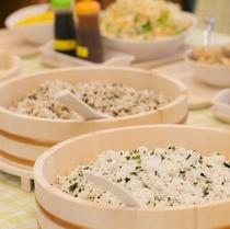 朝食各種メニュー(混ぜご飯)