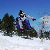 万座温泉スキー場(スノーボード)