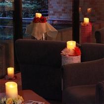 キャンドルの街「湯の山」、優しい灯火がお客様を癒してくれます。