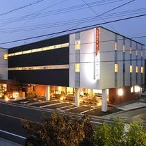 *[外観]当日予約もOK!島田エリアでは貴重な夕食が食べれるホテルです。