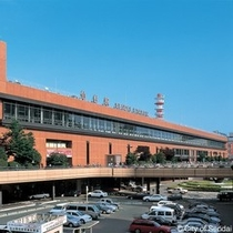 当ホテルは仙台駅から徒歩3分!南町通り沿いにございます♪