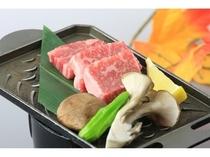 熊野牛鉄板焼き単品もご用意しています