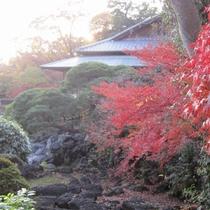 秋の楽寿館