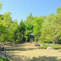 *四季折々の風景が広がる庭園