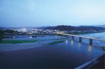 三大急流球磨川の夜景