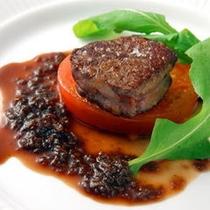 【肉料理】和牛フィレ肉のポワレ
