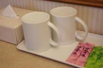 スティック茶サービス