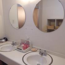 *【洗面所】清潔にご利用頂けるよう、整えております。