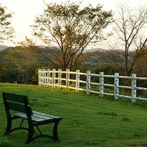 *景観/周りには何もない静かな環境で高原のさわやかな空気を吸ってリフレッシュ!