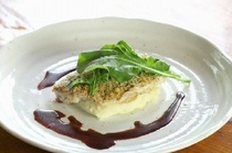 ある日のメニュー(魚料理)