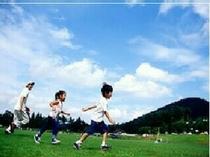 那須高原で素敵な想い出を…。たくさんのお子様がお見えです。お気兼ねなくお出かけください。