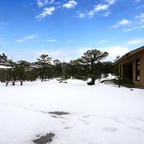 ゆるりの冬の庭園イメージ
