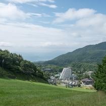 【絶景の空中散歩を楽しめる蔵王ロープウェイ】気象条件があえば雲海が見えるかもしれません。