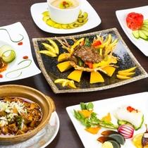 【旬彩中華コース】職人が創り上げる本格的な中華料理をコース風にアレンジ。