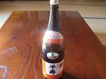 地酒(千寿)飲みやすいです