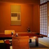 【客室Bタイプ一例「梔」】 落ち着きのある和室にて、ごゆるりとしたお時間を。