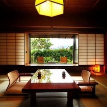 【客室A2タイプ一例「曙」】お部屋から四季折々の蔵王連峰を眺めることができることが魅力のお部屋です。