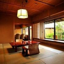 【客室Aタイプ一例「曙」】 気品の中にも快適さを追求したお部屋。