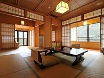 「鶴」 和10+和3+テラス+露天風呂(檜)+回廊