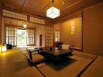 「澄」 和10+和4.5(茶室風)+庭園露天風呂(左官仕上)+庭園