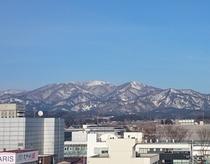 杢蔵山 残雪