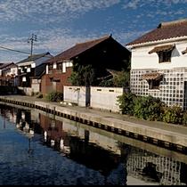 加茂川と土蔵