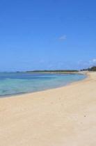 備瀬 砂浜
