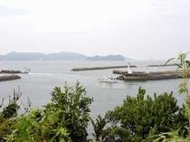 菅島の風景